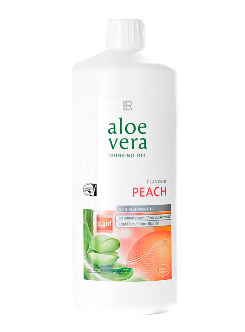 aloe vera drinking gel peach von lr lr shop. Black Bedroom Furniture Sets. Home Design Ideas