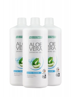 Aloe Vera Drinking Gel Freedom, 6er Pack