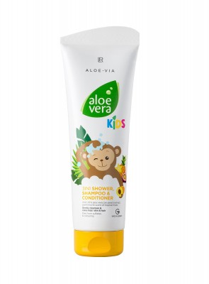 Aloe Vera Kids 3in1 Duschgel, Shampoo & Spülung