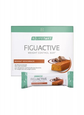 Figuactiv Riegel Nougat-Geschmack 6er Box